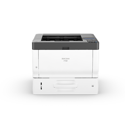 P 501 - Printer - Set forfra