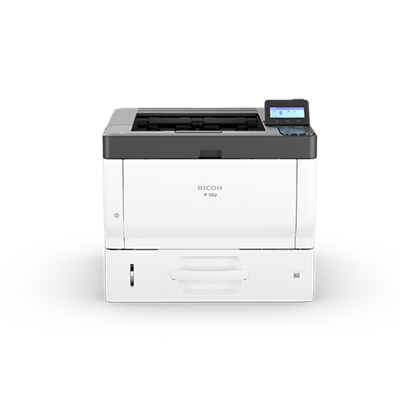 P 502 - Printer - Set forfra