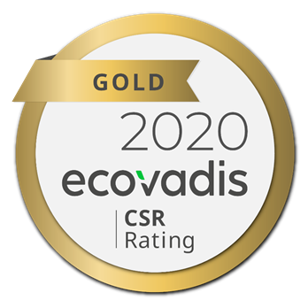 Ricoh awarded highest Gold rating in EcoVadis Global Supplier Survey